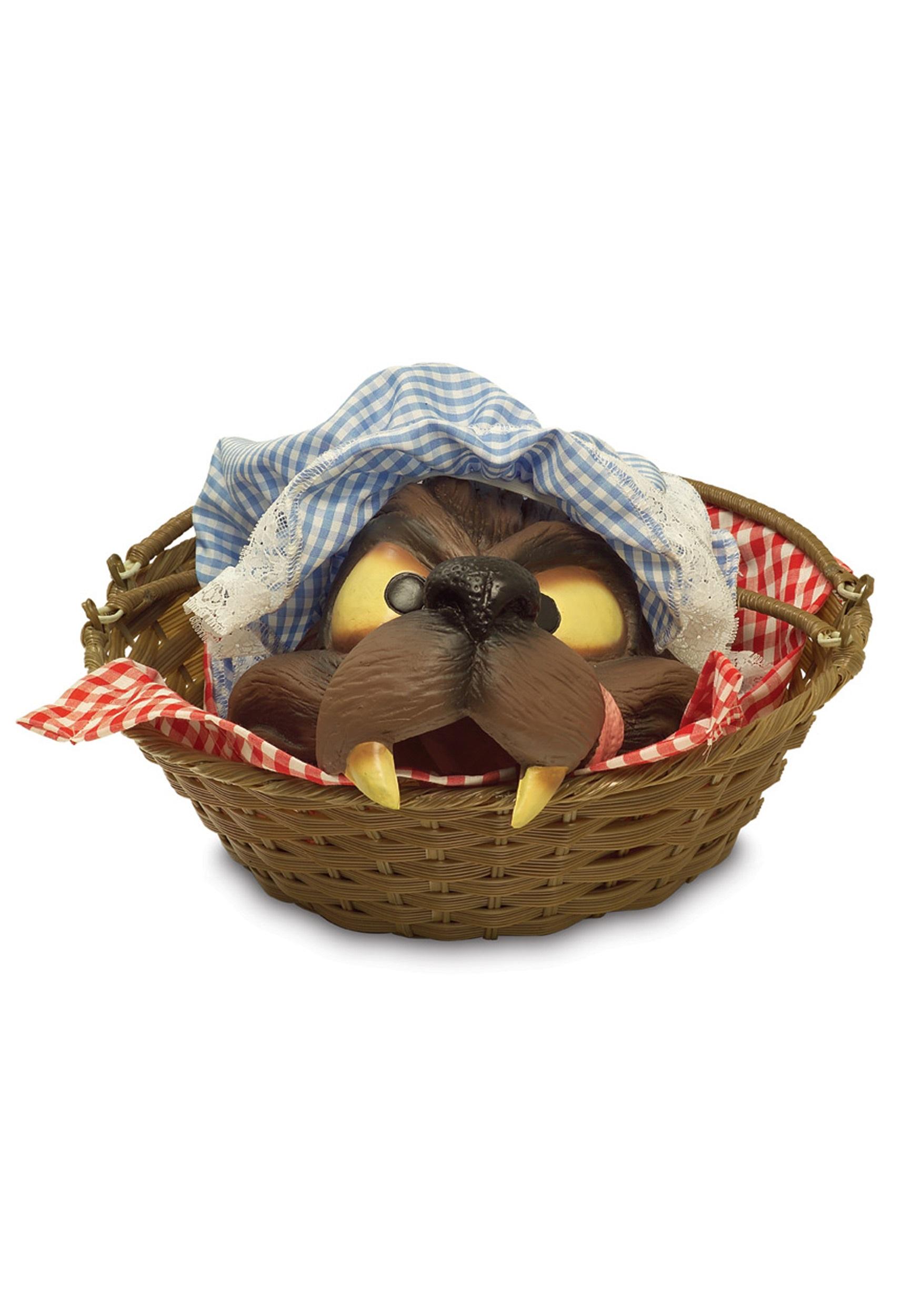 Wolf Head In Basket