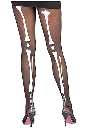 Womens Skeleton Tights