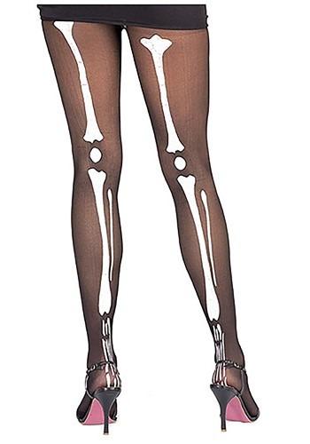 Womens Skeleton Tights