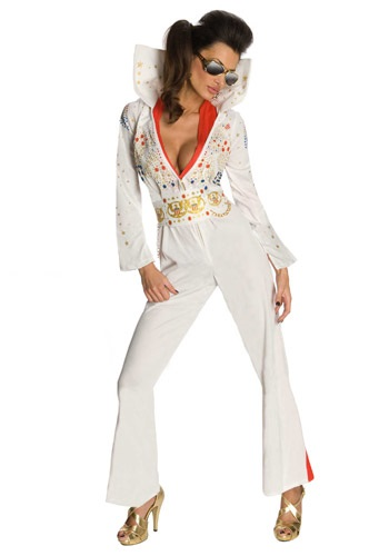 Sexy Elvis Jumpsuit Costume