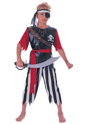 Child Pirate King Costume