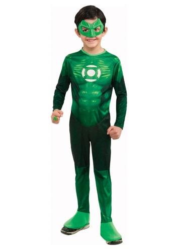 Kids Deluxe Green Lantern Costume