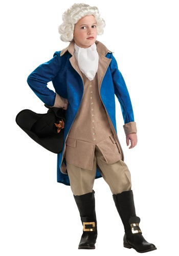 Child George Washington Costume