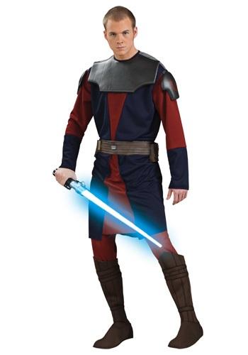Adult Deluxe Anakin Skywalker Clone Wars Costume