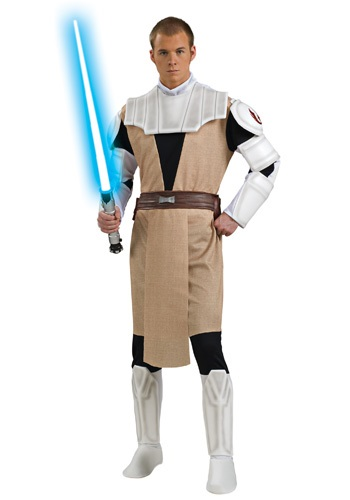 Adult Deluxe Obi Wan Kenobi Clone Wars Costume
