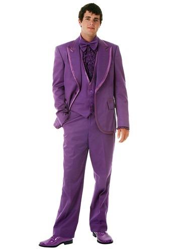 Men's Purple Tuxedo