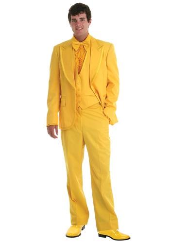 Men's Yellow Tuxedo