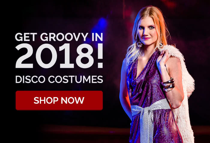 Get groovy in 2018! Disco Costumes
