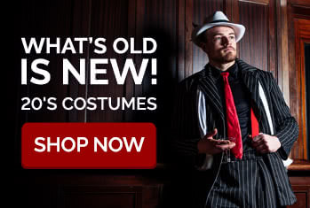 What's old is new! 20's Costumes