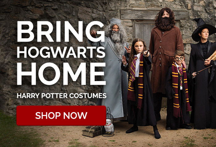 Bring Hogwarts Home. Harry Potter Costumes.