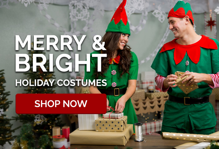 Merry & Bright Holiday Costumes